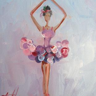Art: Ballerina No. 5 by Artist Delilah Smith