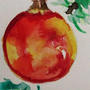Art: Aceo Ornament by Artist Delilah Smith
