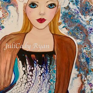 Art: Fierce by Artist Juli Cady Ryan