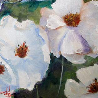 Art: Pleasure of Poppies by Artist Delilah Smith