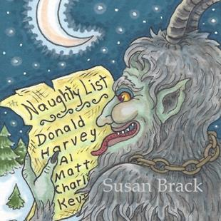 Art: NAUGHTY LIST Christmas Krampus by Artist Susan Brack