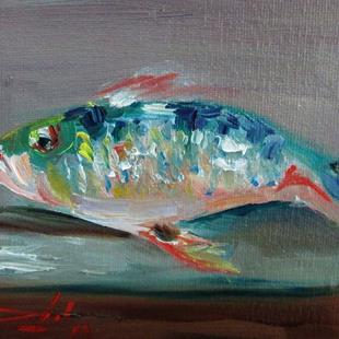 Art: Fresh Fish by Artist Delilah Smith