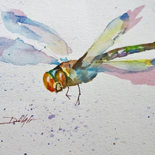Art: Summer Dragonfly by Artist Delilah Smith