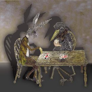 Art: THE CARD GAME r109 by Artist Dawn Barker
