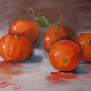 Art: Clementines-sold by Artist Delilah Smith