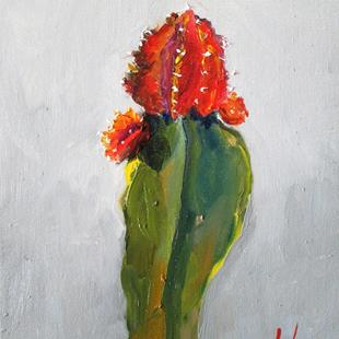 Art: Cactus No. 7=sold by Artist Delilah Smith
