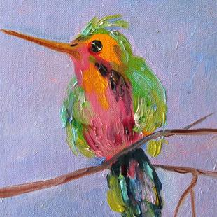 Art: Hummingbird No. 4 by Artist Delilah Smith
