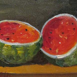 Art: Watermelon by Artist Delilah Smith