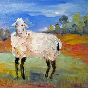 Art: Sheep No. 7 by Artist Delilah Smith