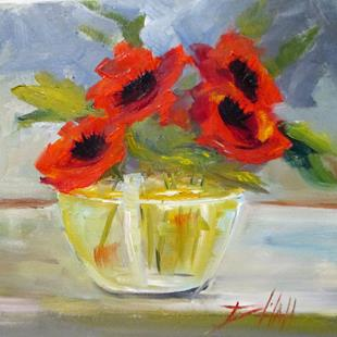 Art: Poppies No. 9 by Artist Delilah Smith