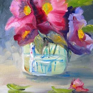 Art: Floral Still Life No. 12 by Artist Delilah Smith