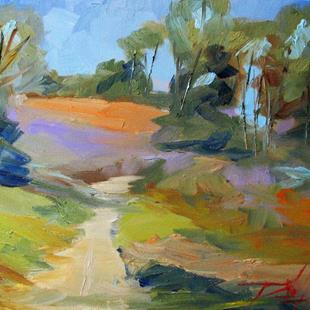 Art: Farm Lane by Artist Delilah Smith