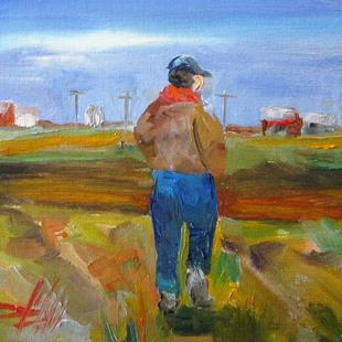 Art: Farmer by Artist Delilah Smith