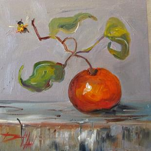 Art: Orange Still Life No. 8 by Artist Delilah Smith