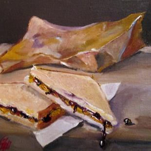 Art: Brown Bag Lunch by Artist Delilah Smith