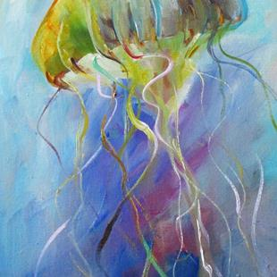 Art: Jellyfish by Artist Delilah Smith