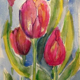 Art: Tulips No. 5 by Artist Delilah Smith