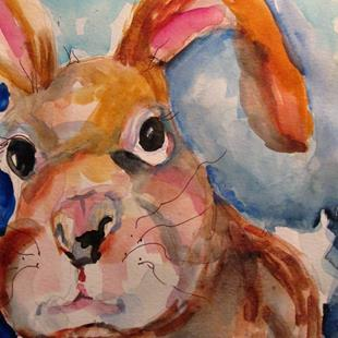 Art: Rabbit No. 4 by Artist Delilah Smith