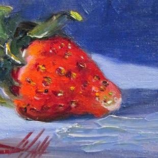 Art: Strawberry No. 2 by Artist Delilah Smith