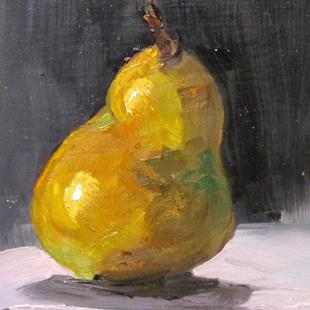 Art: Sweet Pear by Artist Delilah Smith