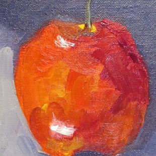 Art: Red Apples by Artist Delilah Smith