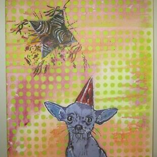 Art: Birthday Chihuahua by Artist Paul Lake, Lucky Studios