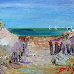 Art: Sandy Beach by Artist Delilah Smith