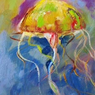 Art: Jellyfish No. 2 by Artist Delilah Smith
