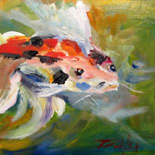 Art: Koi by Artist Delilah Smith