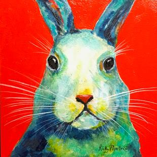 Art: Bunny Rabbit by Artist Ulrike 'Ricky' Martin