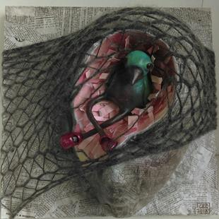 Art: Bird Brain by Artist Cary Dunlap Daly