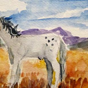 Art: Horse No. 3 by Artist Delilah Smith