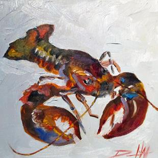 Art: Lobster No.7-sold by Artist Delilah Smith