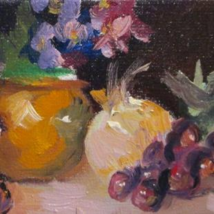 Art: Still Life with Flowers by Artist Delilah Smith