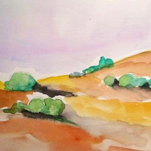 Art: California Landscape by Artist Delilah Smith