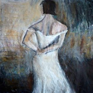 Art: The White Dress by Artist LUIZA VIZOLI