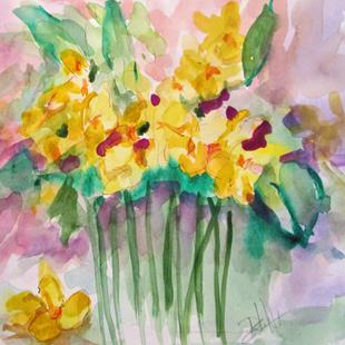 Art: A Spring of Flowers by Artist Delilah Smith