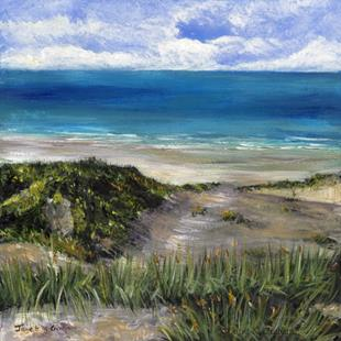 Art: Sand Dune by Artist Janet M Graham