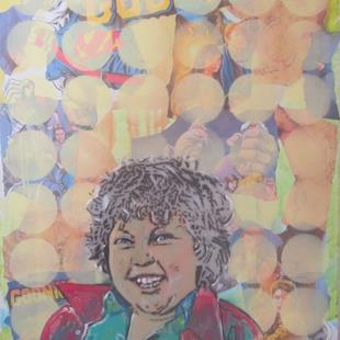 Art: Goonies Chunk Original Graffiti Art by Artist Paul Lake, Lucky Studios