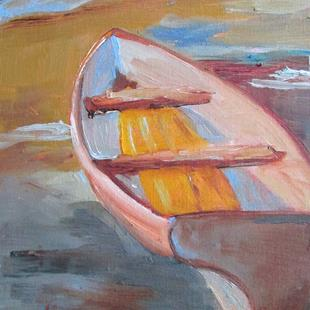 Art: Skiff No. 2 by Artist Delilah Smith