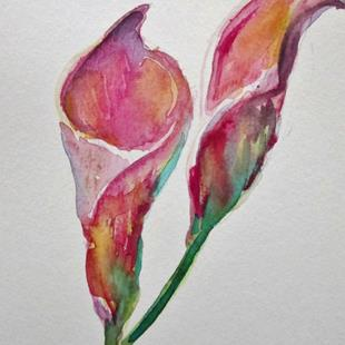 Art: Calla Lily No.2 by Artist Delilah Smith