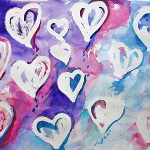 Art: Finding Love by Artist Delilah Smith