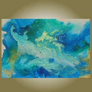 Art: Call of the Ocean (sold) by Artist Amber Elizabeth Lamoreaux