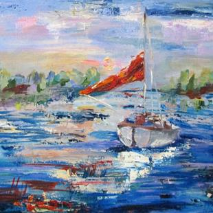 Art: Ready to Sail by Artist Delilah Smith