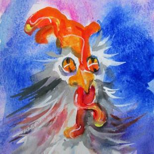 Art: Mr Cluck by Artist Delilah Smith