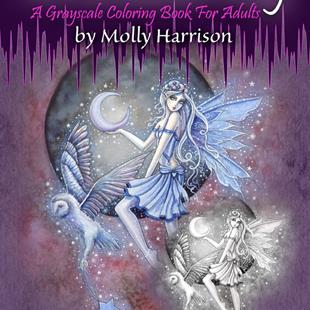Art: the enchanted fairy cover low res by Artist Molly Harrison