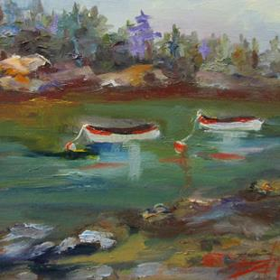 Art: Dinghies by Artist Delilah Smith