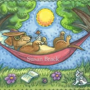 Art: DOXIE DAYS OF SUMMER by Artist Susan Brack
