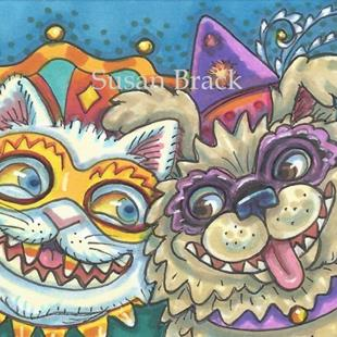 Art: HALLOWEENIES by Artist Susan Brack