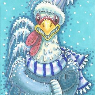Art: FROZEN CHICKEN by Artist Susan Brack